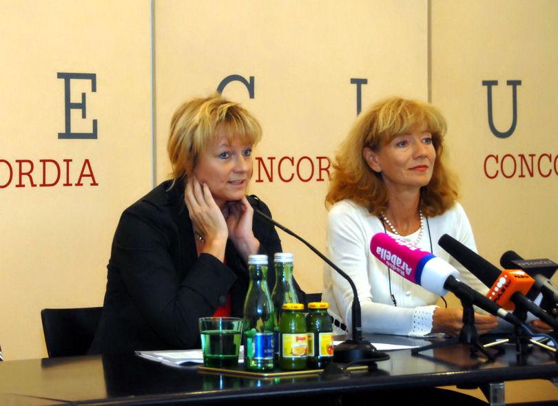 Bei der Tinnitus Pressekonferenz in Wien werden Fragen zum Thema Tinnitus beantwortet