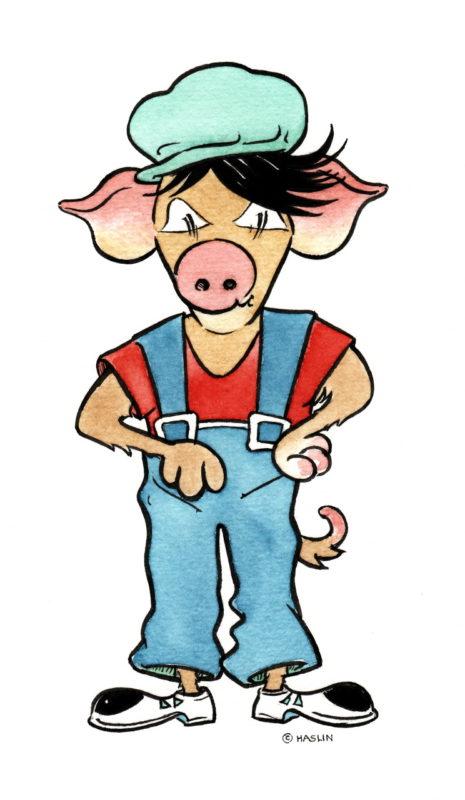 Den inneren Schweinehund kannst du überwinden