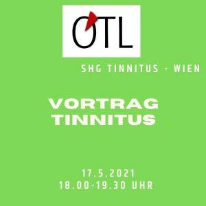 Ankündigung Tinnitus Vortrag