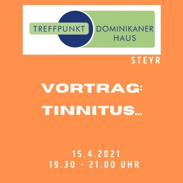Einladung zum Tinnitusvortrag in Steyr